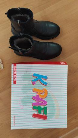 Детские кожаные ботинки Турция К. PAFI