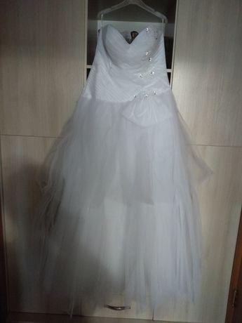Платье свадебное на корсете 46 размер  15000 тнг