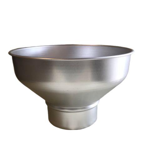 Palnie din aluminiu cu sita, capacitate 10.0 litri (mare)