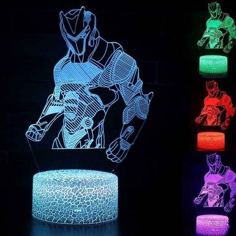 Fortnite 3D LED нощна лампа Фотрнайт