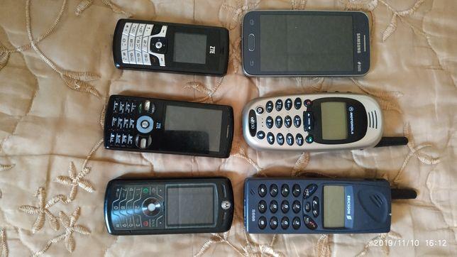 Продам ретро телефоны на запчасти