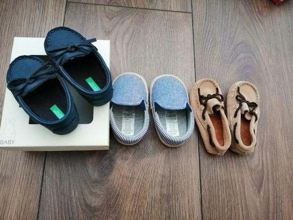 Чисто нови маркови обувчици зара, бенетон, праймарк