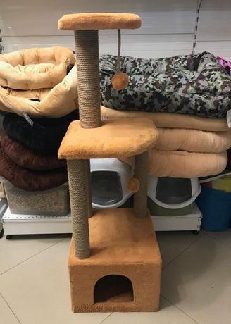 Высокий дом-когтеточка для кошек!