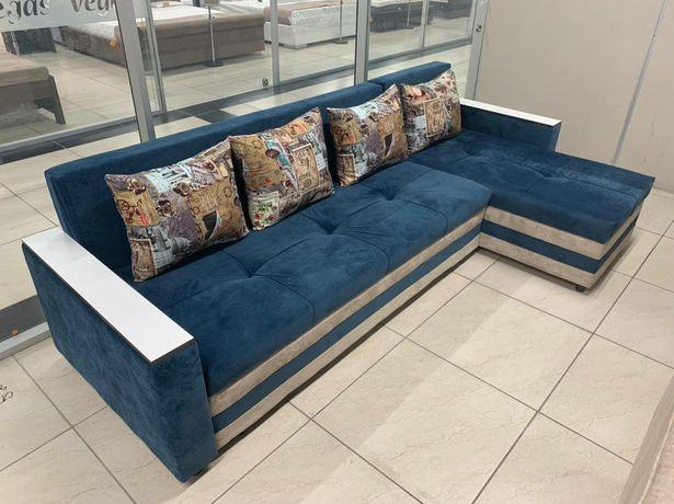 Мягкая мебель, диван и кресло, раскладной диван