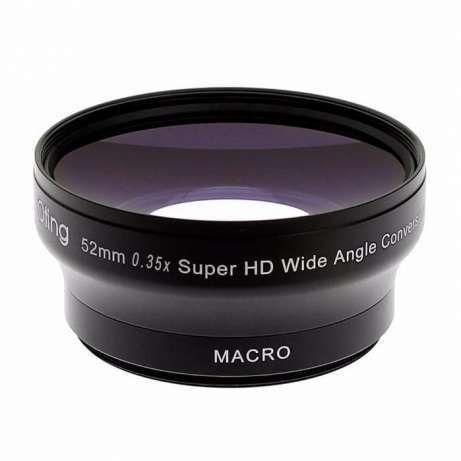 0.35x Super Wide Angle Panoramic WITH MACRO Fisheye Lens, HD II, NIKON
