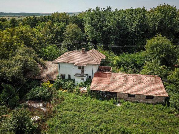 Къща+стопански постройки.Село Овча Могила