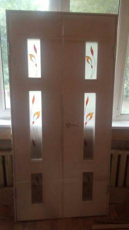 Двери б/у межкомнатные и входные