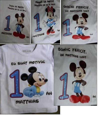 tricouri personalizate pt aniversare MOT - 3TRICOURI = 120LEI