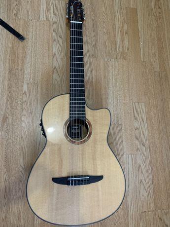 Нейлоновая гитара с подключением yamaha