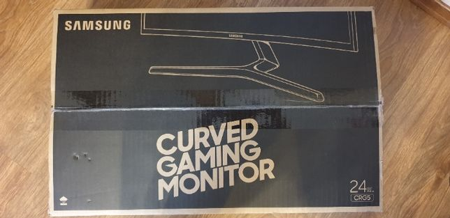 """Monitor Samsung Curved Gaming CRG5 144Hz 24"""""""