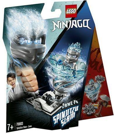 Sigilat LEGO NINJAGO Spinjitsu Slam Zane 70683