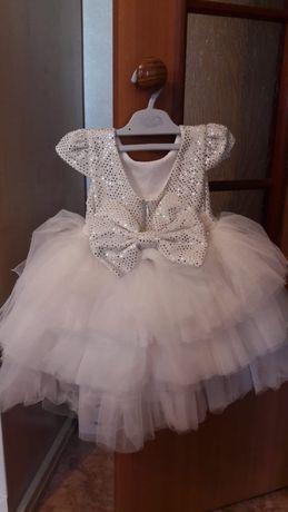 Платье для девочки на 1-2 года.