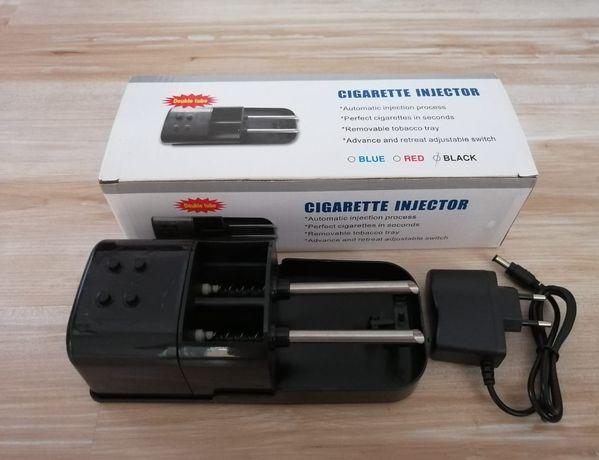 Aparat electric profesional de facut tigari cu 2 injectoare reflection