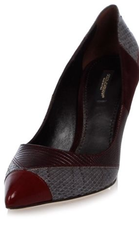Pantofi originali Dolce&Gabbana, 37, toc 7 cm, noi