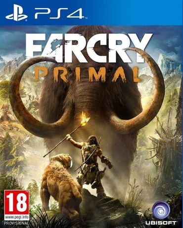 Far Cry Primal / PS4 / Игра / Нова / Playstation4 / TV