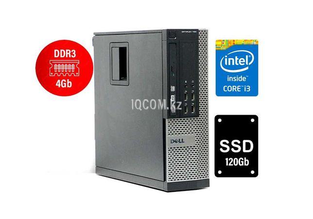 Компьютер офисный i3 2100/ 4Gb SSD 120Gb    DELL Алматы