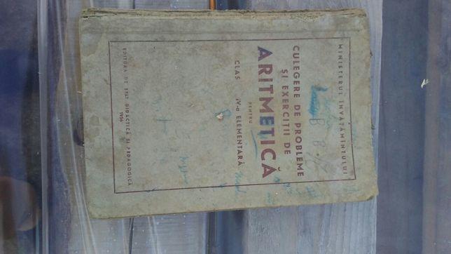 Carte veche de Aritmetica 1956
