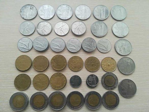 Монети ИТАЛИЯ - от 1956 до 2000
