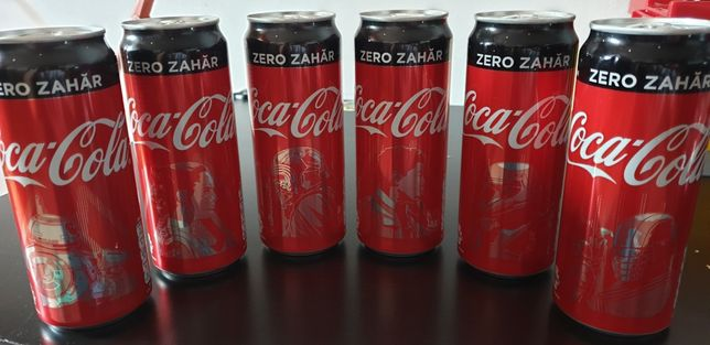 Coca cola star wars colectie