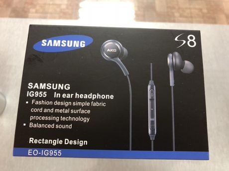 Слушалки AKG за Samsung galaxy S8 стерео хендсфри нови EO-IG955
