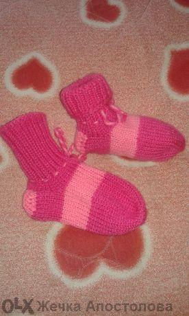 Плетени чорапи и терлъци.