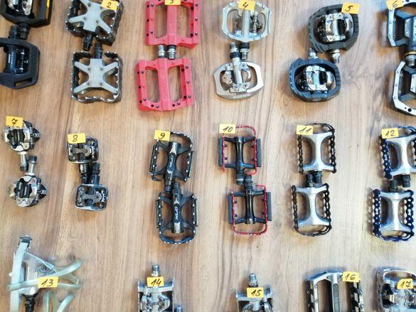 Употребяван оригинални педали за велосипед, колело, Вело педали