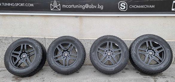 Джанти 22 цола + Гуми Pirelli 22 цола от Mercedes G500 4×4²