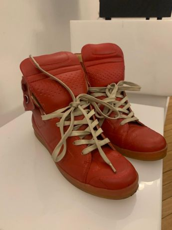 Martin Margiela for h&m high top sneakers