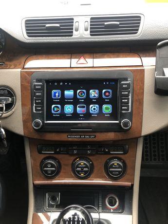 Gps navigatie android 2 GB golf5 tiguan touran 6 passat cc waze montaj