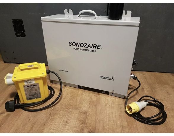 Generator industrial de ozon pentru controlul mirosurilor și purificar