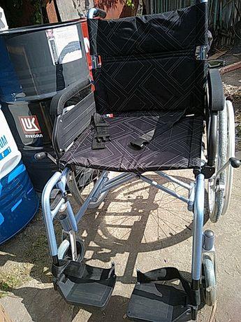 Инвалидная коляска прогулочная,новая. Доставка по городу бесплатно.