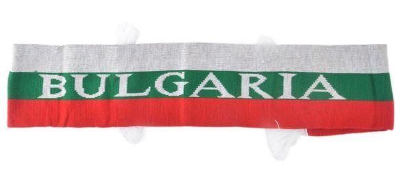 НОВ зимен шал с надпис Bulgaria!