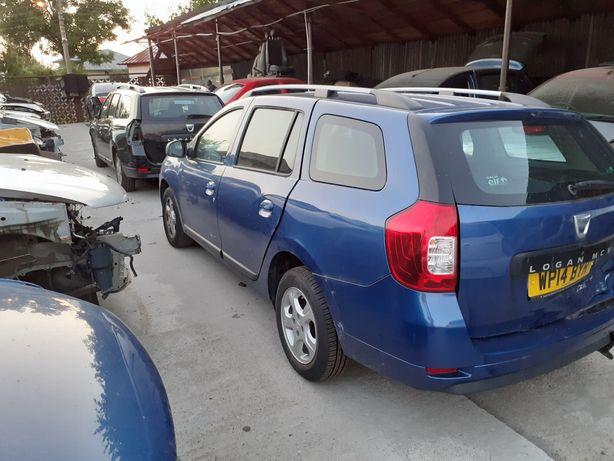 Piese/dezmembrari Logan MCV 2 Albastru persan 1,5 DCI euro 5 90 cp