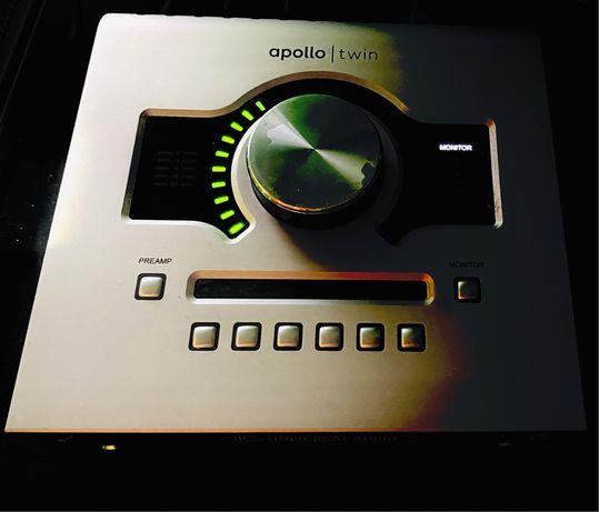 UAD Apollo duo usb звуковая карта