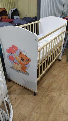 Кровать детская Lucy Love sleeping колесо-качалка (ВДК) манеж Алматы