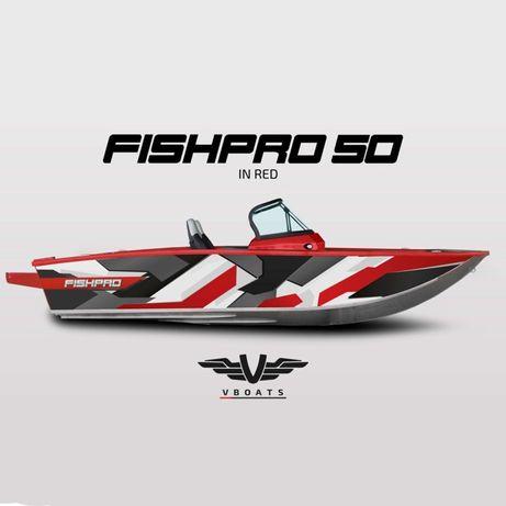Barca aluminiu VBOATS FishPro X5 (fara motor)