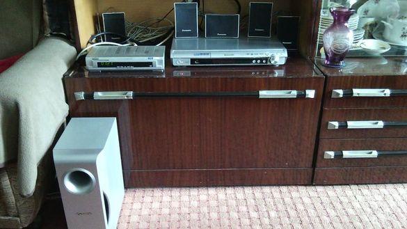 Panasonic Домашно кино Dvd Home Theater System SA-PT160, 5.1 с бонус
