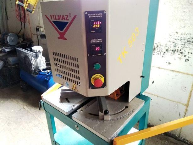 Автоматический сварочный станок Yilmaz TK 503 и углозачистной станок