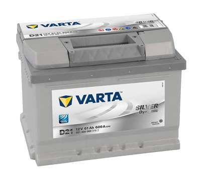 Baterie auto Varta Silver 61 Ah - livrare gratuita in Bacau !!!