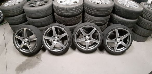 Джанти Rcd , 18 цола, 4х114.3 , 8j , et35 , 225/35/18 Honda , volvo