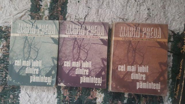 Marin Preda - Cel mai iubit dintre pământeni, 3 vol., 50 lei.