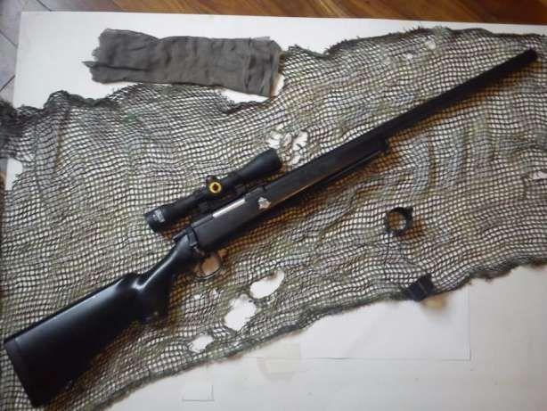 Pusca AIRSOFT METAL sniper ~3 JOULI~ cu aer comprimat pistol Arc co2