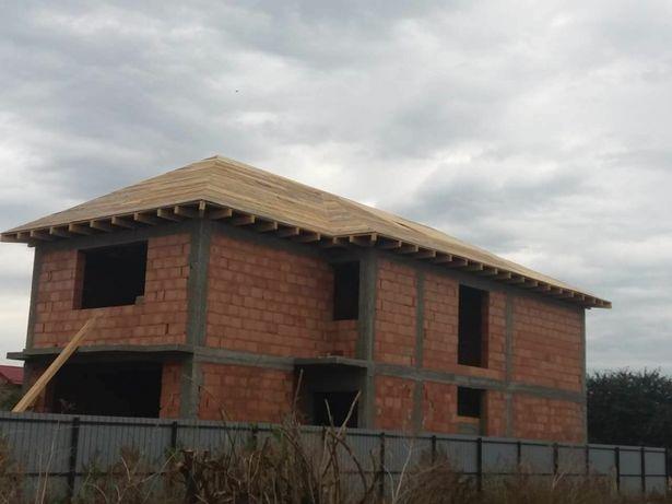 Construim Case la Rosu ,Fundatii, Zidarii ,Mansarde , Acoperisuri,