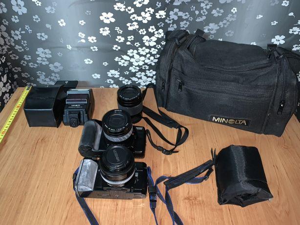 Set aparat foto Minolta