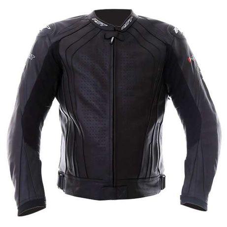 GEACA MOTO BARBATI PIELE RST R-Sport CE Mens Leather Jacket Black