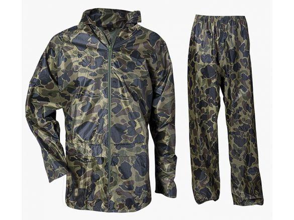 Водозащитен костюм CARINA CAMOUFLAGE. Размер: L, M, XL, XXL