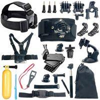 Комплект whole set of mounts 18 in 1 аксесоари за екшън камери