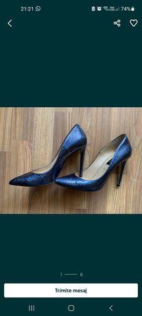 Pantofi Musette albastri