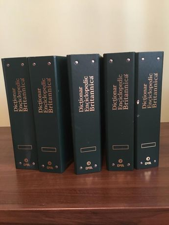 Vand colectia - Dictionar enciclopedic Britannica deAgostini