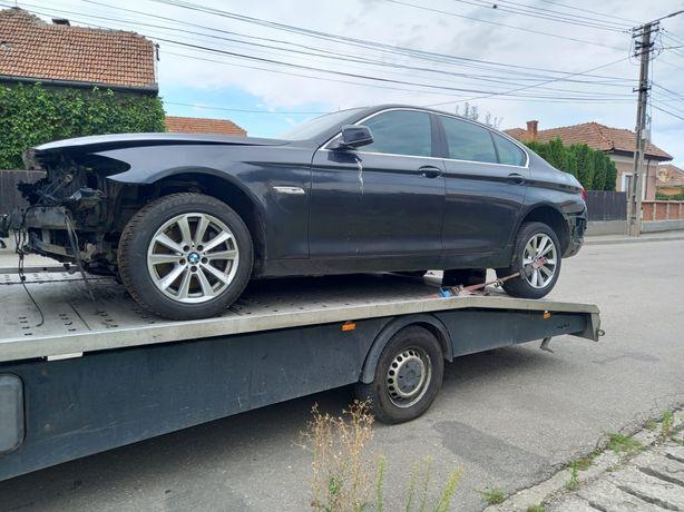 Vând sau dezmembrez BMW seria 5 F10 avariat fără motor și cutie